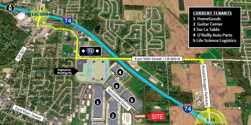 Eaglepoint Land - 3.15 Acres, Brownsburg, JLL PowerSearch