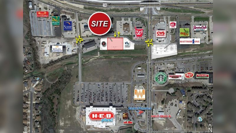 Killeen Pad Site - Retail - Lease