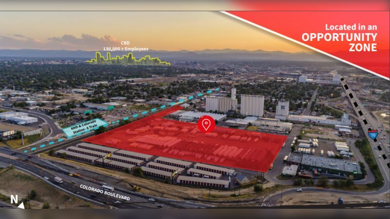 40th & Colorado Station - Land - Sale