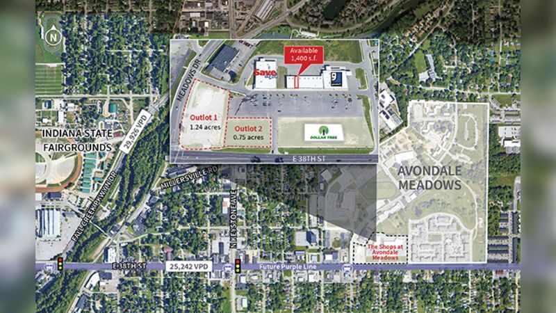 The Shops at Avondale Meadows - Land - Lease