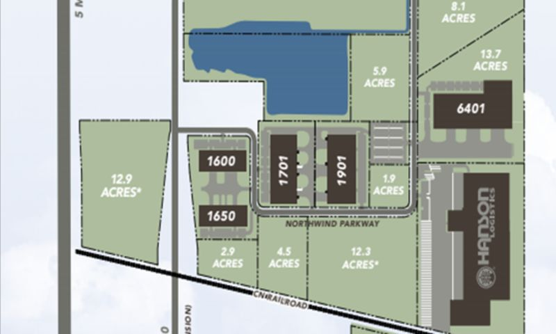 NorthWind Crossing - Lot I - Industrial - Lease - Property View
