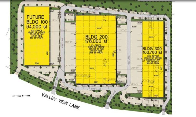 161 Distribution Center - Bldg 300 - Industrial - Lease - Property View