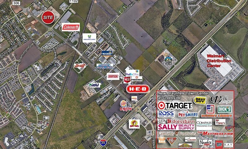 FM 306 at Common Street - Retail - SaleLease - Property View