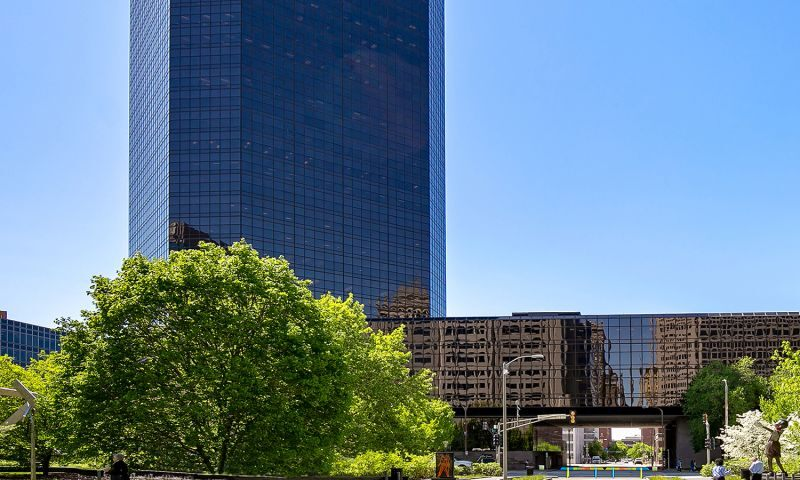 Bank of America Plaza - Office - Lease - Property View