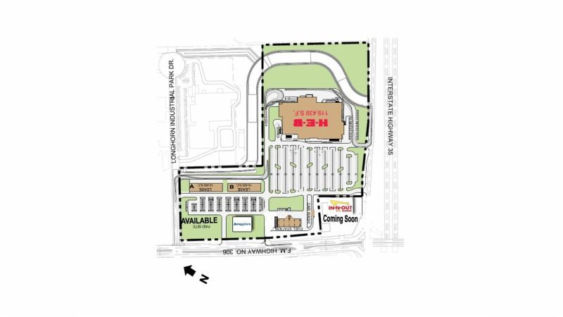 HEB Shopping Center - Retail - Lease