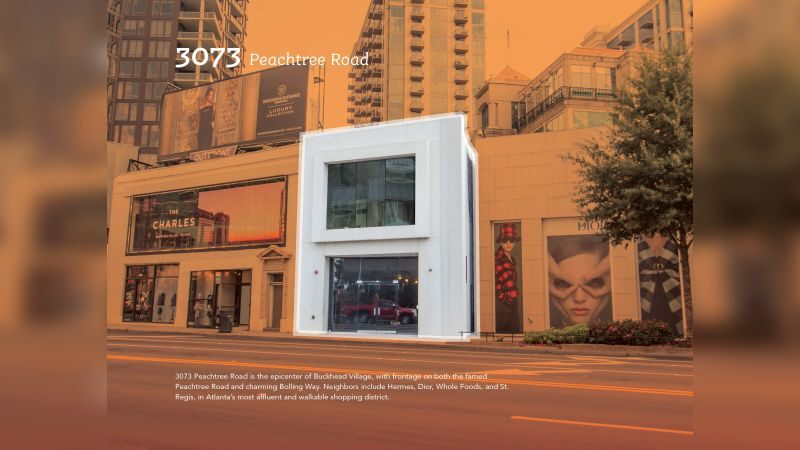 3073 Peachtree Road - Retail - Lease, Sale