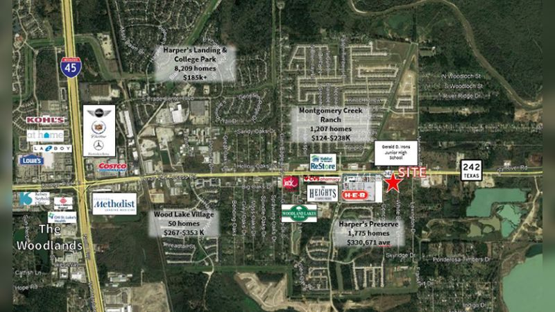 SH 242 and Concord Drive - Retail - Sale