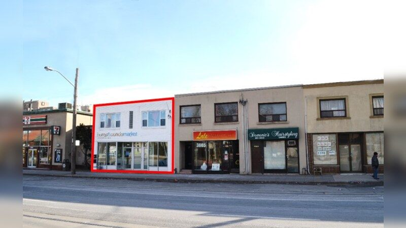 3663 Lake Shore Blvd. W. - Retail - Sale
