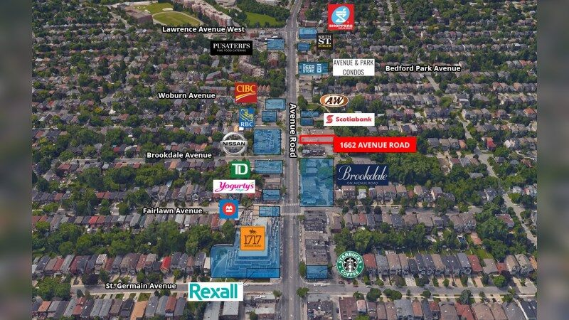 1662 Avenue Road - Retail - Sale