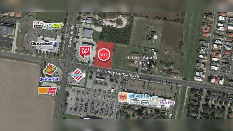 Walgreens 11148 - S MCCOLL RD - Edinburg, TX - Retail - Sale