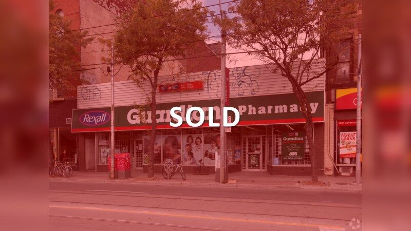 1488 Queen Street West - Retail - Sale