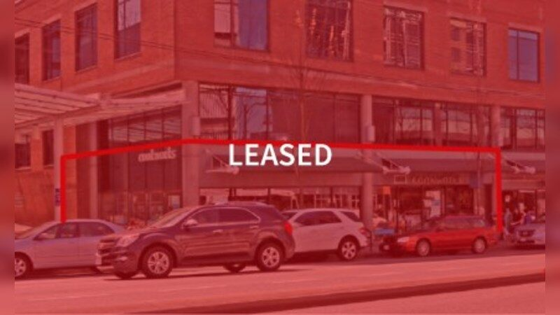 For Lease - 1548 West Broadway - Retail - Lease