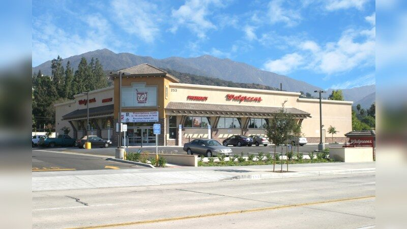 Walgreens 9050 - E FOOTHILL BLVD - Arcadia, CA - Retail - Lease