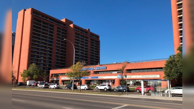 Boardwalk Centre: 8930 Jasper Ave - Retail - Lease