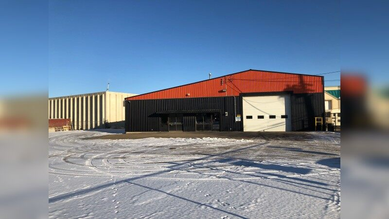 Former Macroe Construction Building - Industrial - Sale