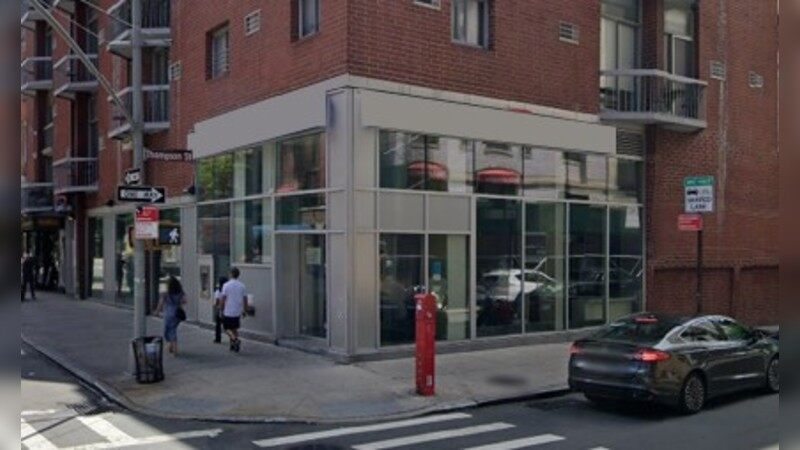 Bank site for sublease - THOMPSON & BLEECKER - New York, NY - Retail - Sublease